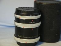 '  MACRO ' Canon  FD  Fit Macro Extension Tubes Cased -MINT-  £9.99